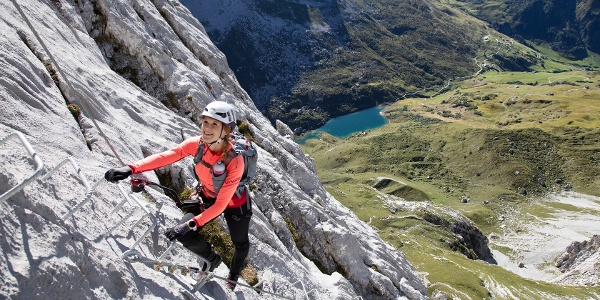 Klettersteig Partnunblick