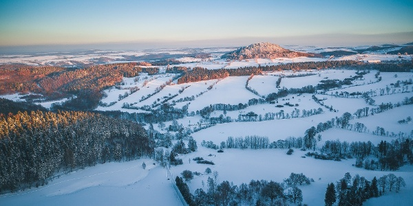 Winter in der Urlaubsregion Altenberg - Geisingberg