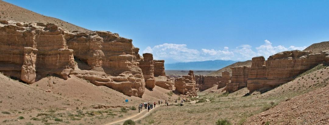 Чарынский каньон и его посетители