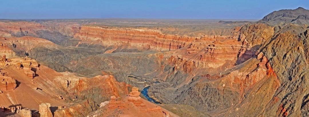 Каньон Чарын. Юго-восточный Казахстан.
