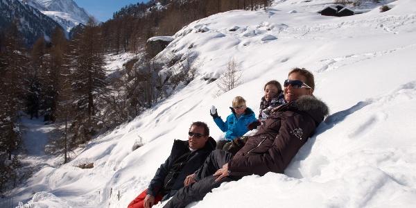 Winterspass mit der ganzen Familie