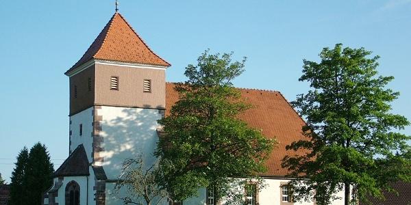 Johannes Kirche Urnagold