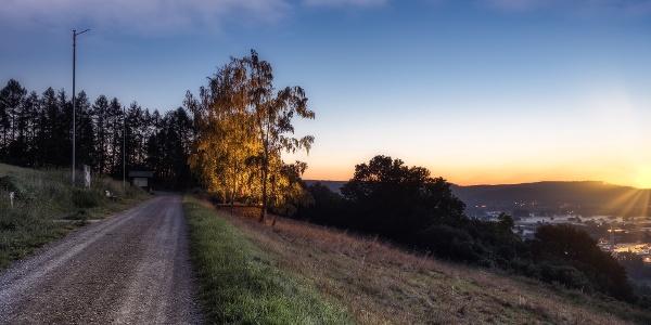 Blick vom Osterberg