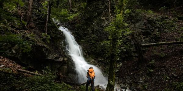 Wasserfall im Nendler Wald