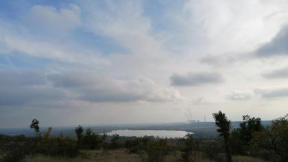 Panoráma a Mátrai Erőművel