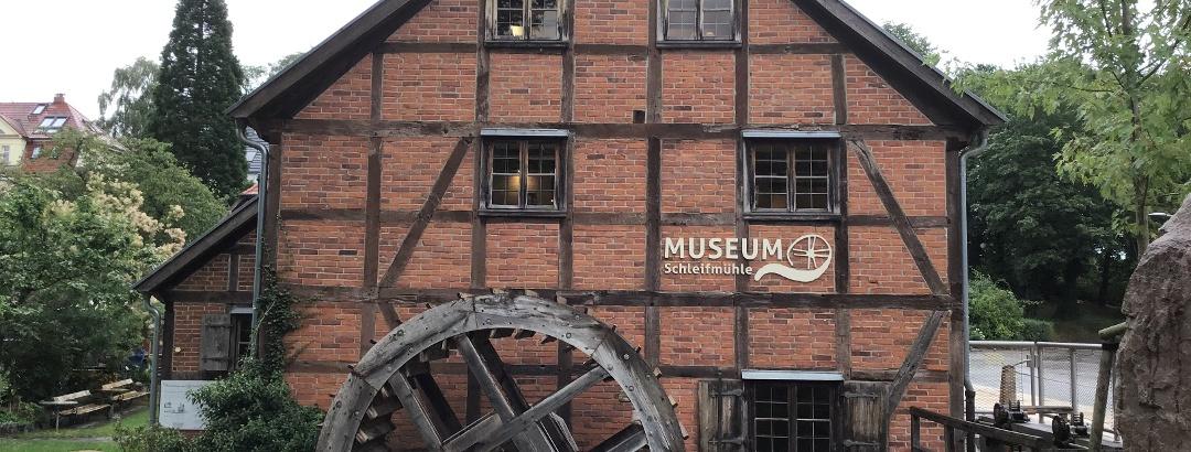 Schleifenroute - Schwerin Museum Schleifmühle