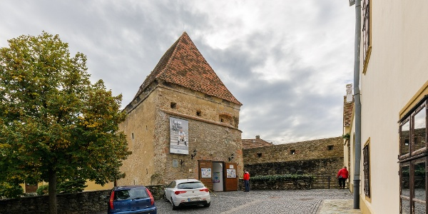 A kőszegi Zwinger (Öreg-torony)