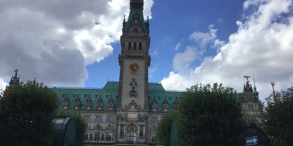 Schleifenroute - Hamburg Rathaus