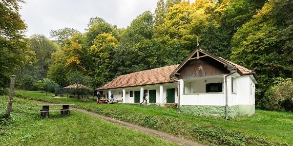 A Samassa kulcsosház ősszel