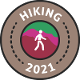 Hiking 2021 500 km
