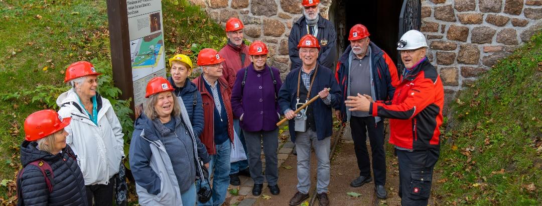Führung im Schaustollen - Bergbaumuseum Altenberg