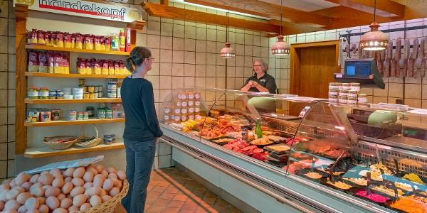 Fleischerei Hardekopf, Filiale in Niedernwöhren