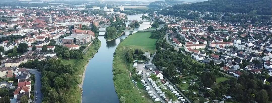 Campingplatz Hameln an der Weser