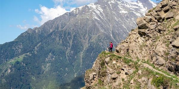 Rock trail Vellau