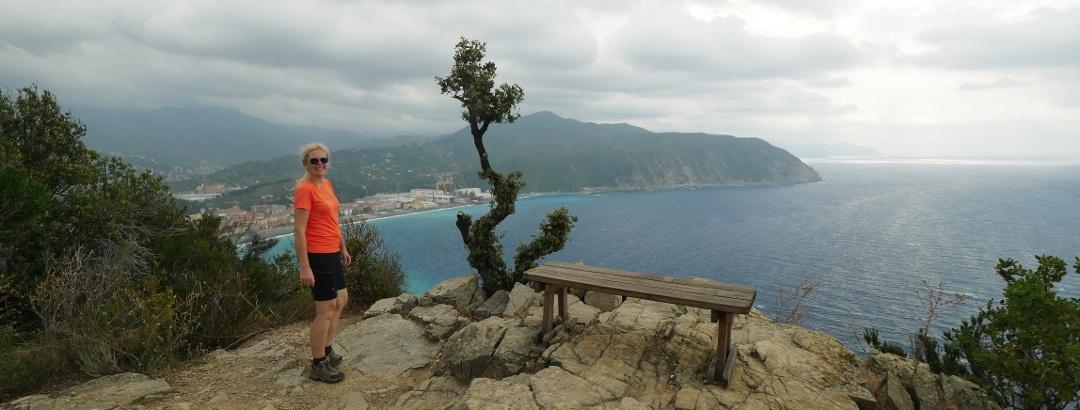 Am Aussichtspunkt Punta Manara
