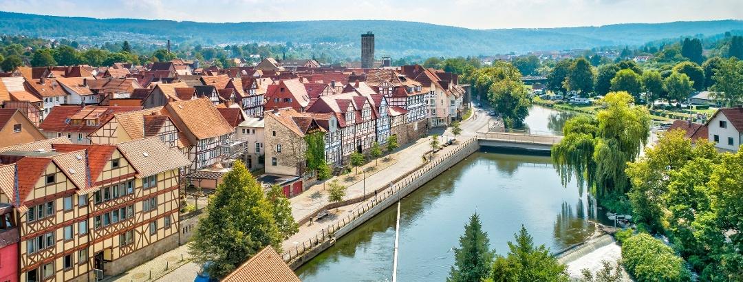 Stadtansicht - Hann. Münden