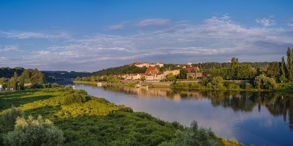 Stadtpanorama Pirna