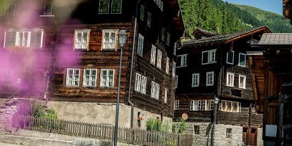 Village de montagne de Geschinen