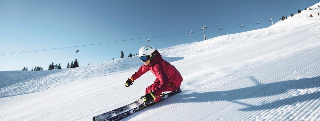 Skifahren am Golm im Montafon