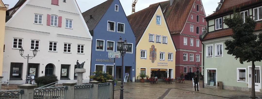 Schleifenroute - Donauwörth bunte Häuser