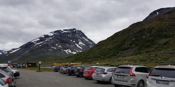 Parkplatz an der Spiterstulen