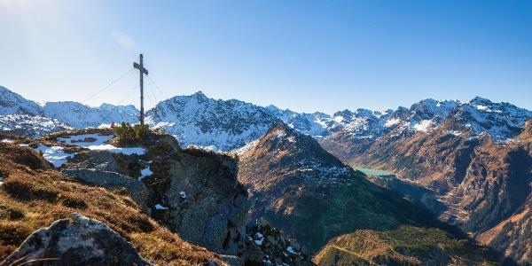 Gipfelkreuz Breitspitze
