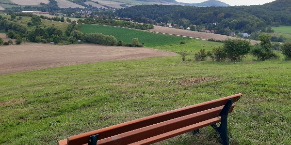 Blick oberhalb Jenaprießnitz