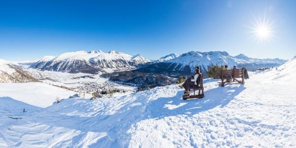 chemin hivernal Marguns-Chantarella