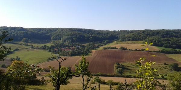 Blick vom Großen Gleisberg Richtung Laasan