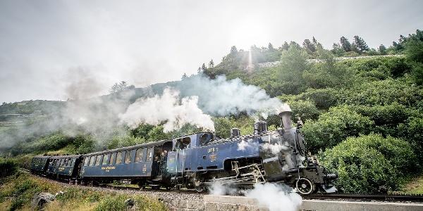 Steam train Furka