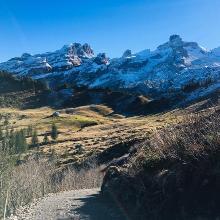 Mitten in der Bergwelt...