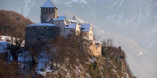 Schloss Vaduz im Winter