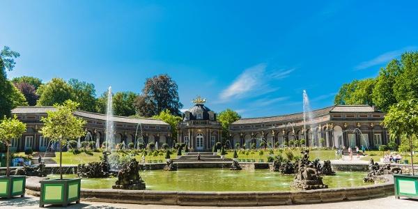 Eremitage Sonnentempel und Orangerie Bayreuth
