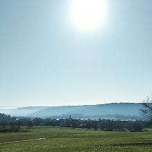 Panorama vom Sportplatz