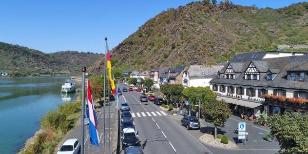 Moselhotel Burg-Café Alken - Luftbild