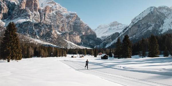 Scotoni cross-country skiing slope