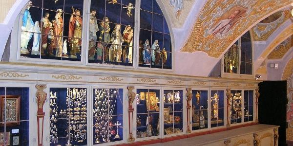 Schatzkammer der Basilika Maria Taferl