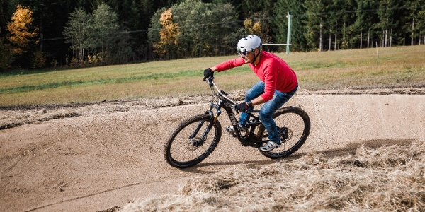 Mountainbiken am Annaberg