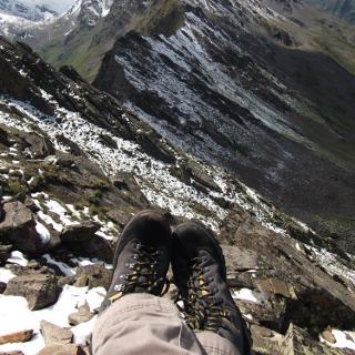 Blick vom Gipfelkreuz