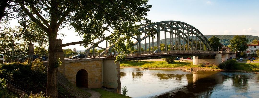 Weserbrücke in Rinteln