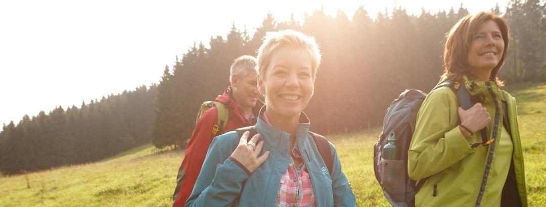 Wanderer im Weserbergland