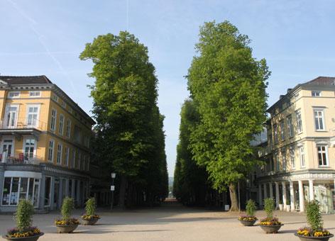 Historische Hauptallee - Bad Pyrmont