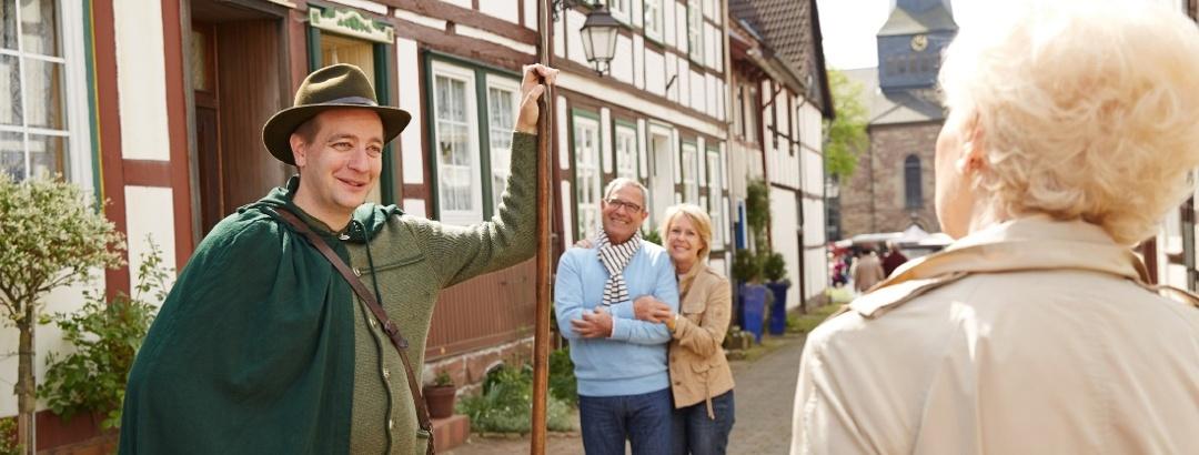 Stadtführung mit Jäger Hackelberg