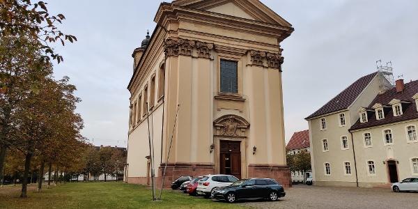 "Oggersheim - Wallfahrtskirche ""Maria Himmelfahrt"""
