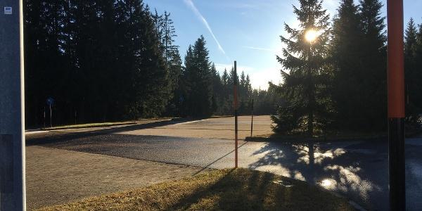 Parkplatz Ortseingang Oberbärenburg