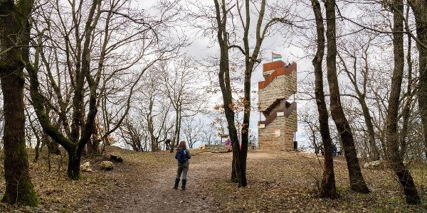 A Dévényi Antal-kilátó a Nagy-Kopasz tetején