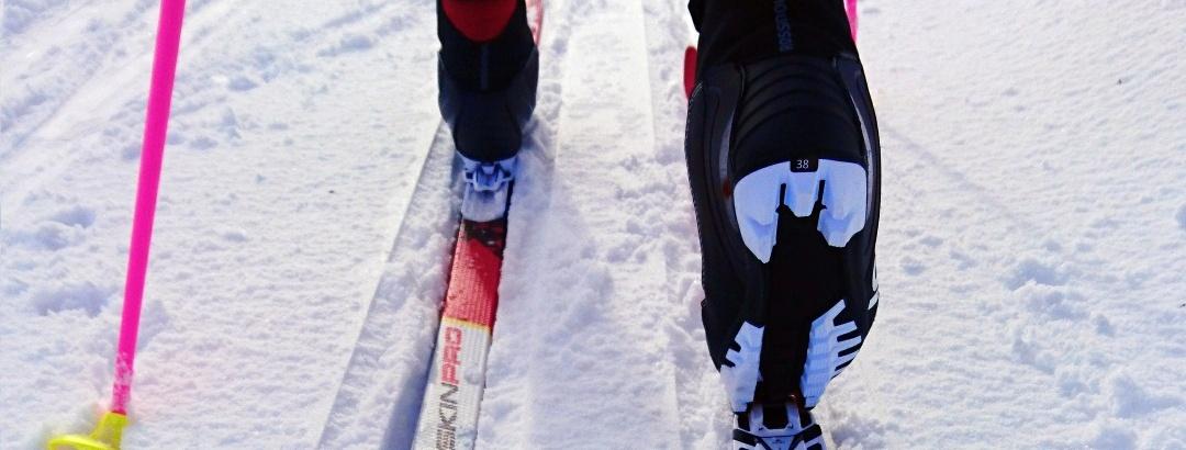 Nordic skier at Ruka, Kuusamo