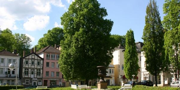 Altenauplatz mit Drakevase