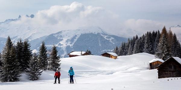 Schneeschuhwanderung Historisches Bergwerk