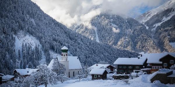 Winterlandschaft St. Gallenkirch